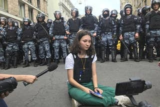 This Teen Activist Faces Prison For Defying Putin's Soldiers. She Says She Has No Regrets.