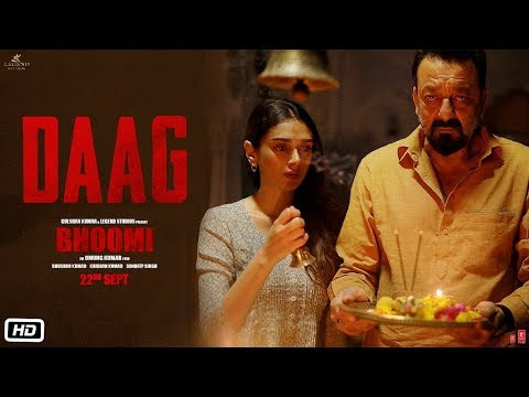 Sanjay Dutt's Bhoom's new song 'Daag' will make you feel emotional