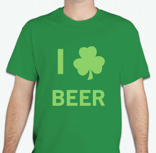 St Patricks Day T Shirts Custom Design Ideas
