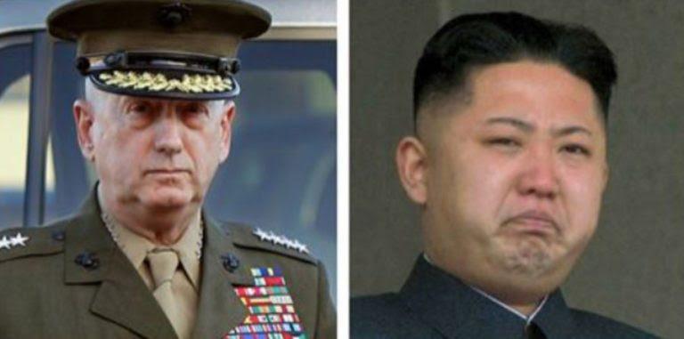 Mattis V N Korea