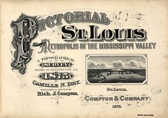 Pictorial St. Louis -- Compton & Dry, 1875
