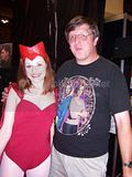me and Scarlet Witch