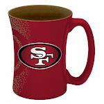 San Francisco 49ers Coffee Mug - 14 oz Mocha