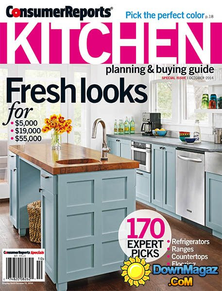 Consumer Reports Kitchen Planning and Buying Guide ...