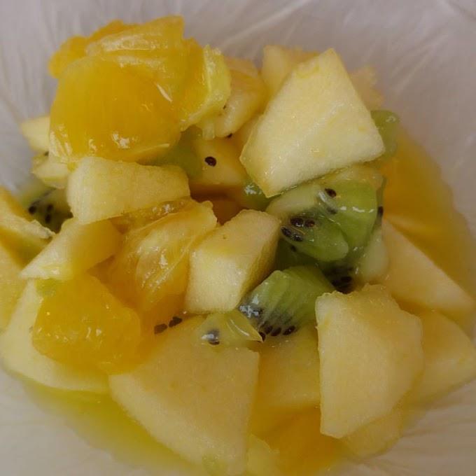 Ensalada de tres frutas
