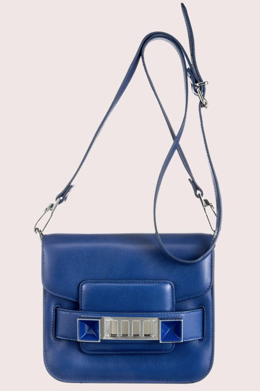 LE FASHION BLOG NEW PROENZA SCHOULER BAG SMALLER PS11 TINY CROSS BODY BAG ROYAL BLUE n2 photo LEFASHIONBLOGNEWPROENZASCHOULERBAGSMALLERPS11TINYCROSSBODYBAGROYALBLUEn2.jpg