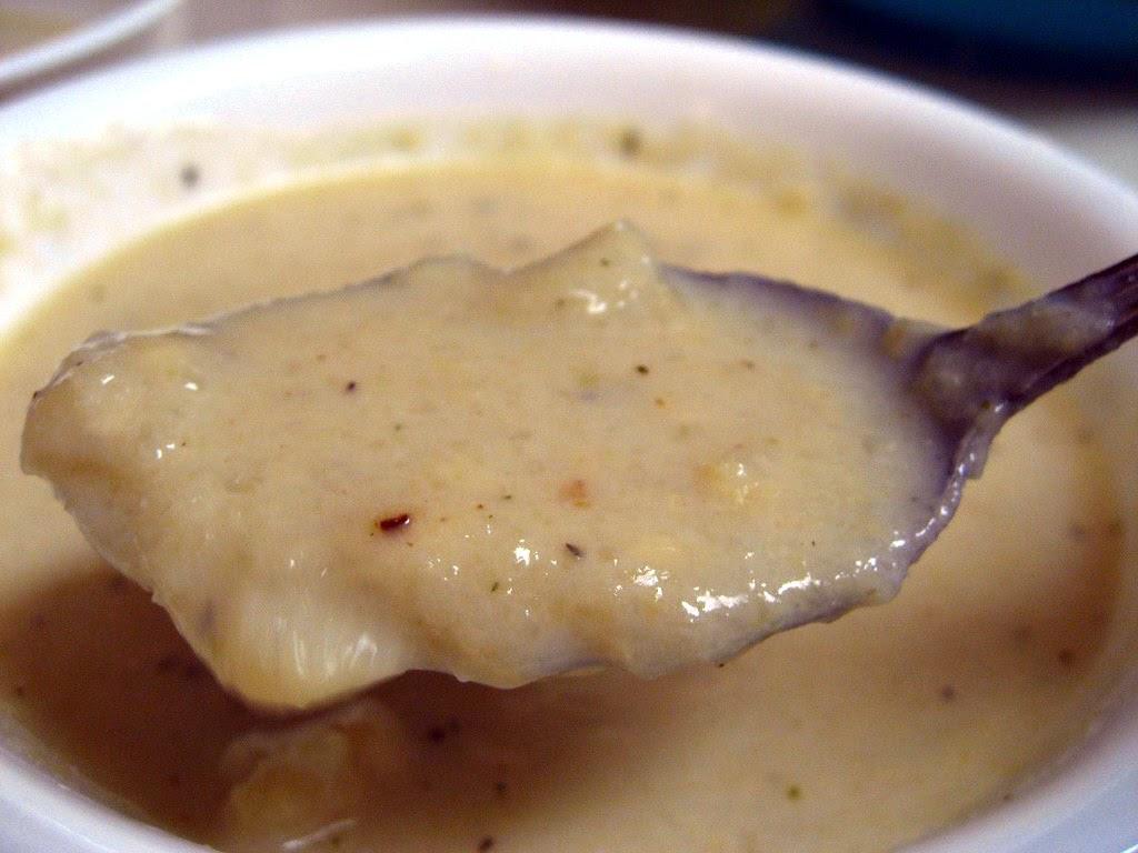 Cauliflower and Cheddar Soup