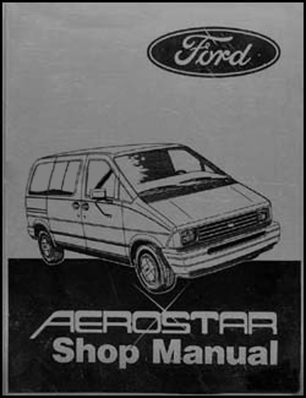 1996 Ford Aerostar Service Shop Repair Set Oem Service And ...