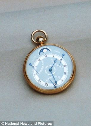 Another Breguet watch, this one worth £10,000