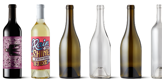 Bare Bottle: Where Wine Meets Design - Design Milk