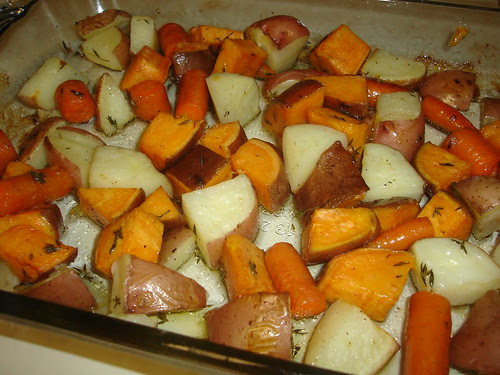 Carrots & Potatoes Out of the Oven