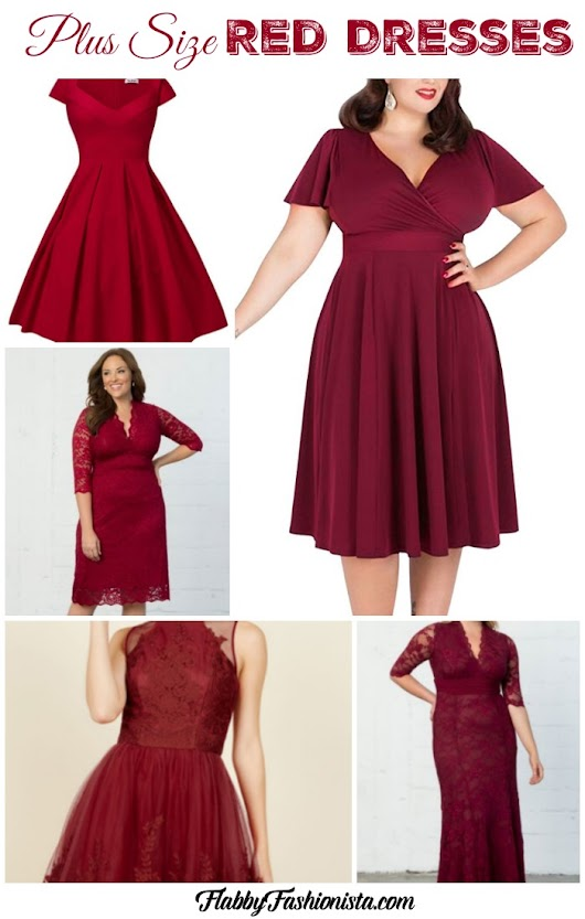 Plus Size Red Dresses That Will Fit, Flatter, and Wow!