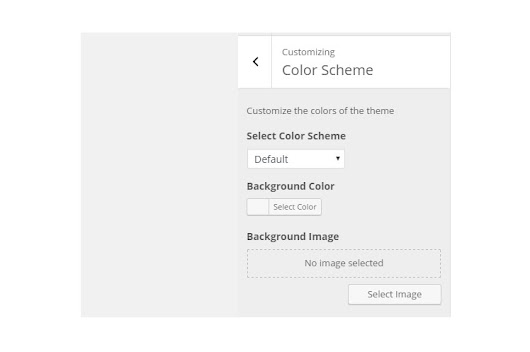 Adding Color Scheme Option using WordPress Theme Customizer - admixweb