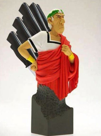 Julius Caesar Knife Block: Beware the Knives of March -Craziest Gadgets