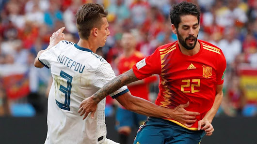 Russia vs Spain post match review and Player ratings