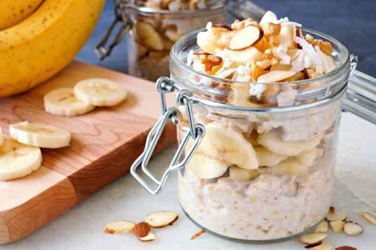 Peanut Butter Banana, Protein-Packed Overnight Oats