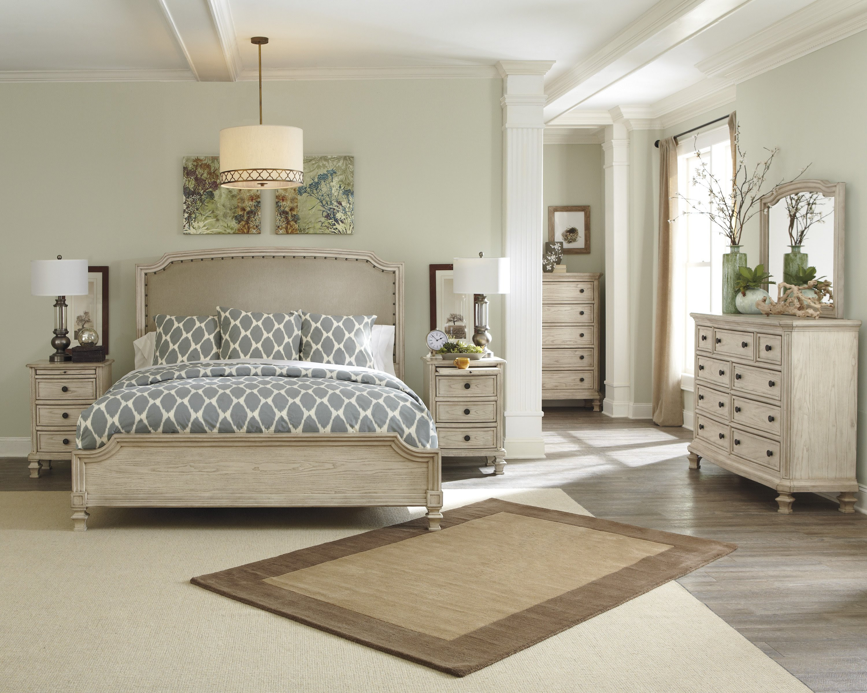 Paint Colors That Go With Cherry Wood Floors Cabinets Grey ...