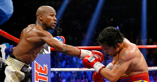 Floyd Mayweather Jr. Defeats Manny Pacquiao in Boxing's Big Matchup - NYTimes.com