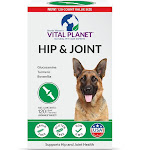 Vital Planet Hip & Joint with Glucosamine for Dogs, Chewable Tablets - 120 count