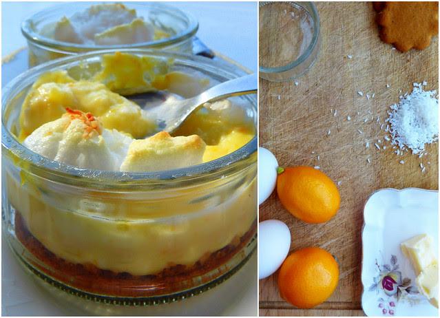 mise en place deconstructed lemon meringue pie
