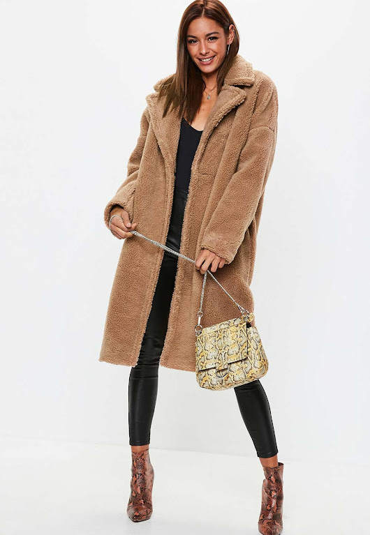 20 Must Have Stylish Teddy Borg Coats