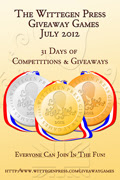 COMING SOON: Wittegen Press Giveaway Games July 2012