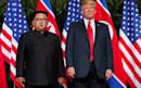 North Korea urges US to drop sanctions as it accuses Washington of 'acting opposite' to Singapore pledges