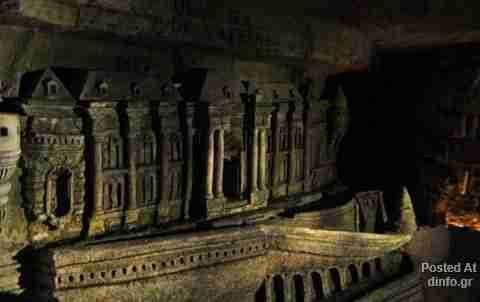 Ο σκοτεινός υπόγειος κόσμος του Παρισιού