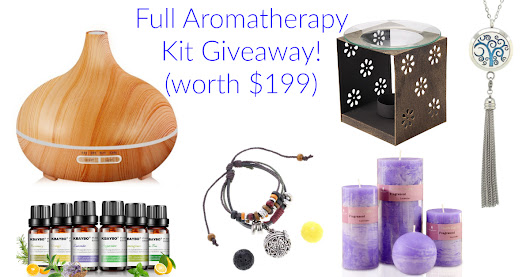 The Aromatherapy Kit Giveaway! (Worth $199) Check it out
