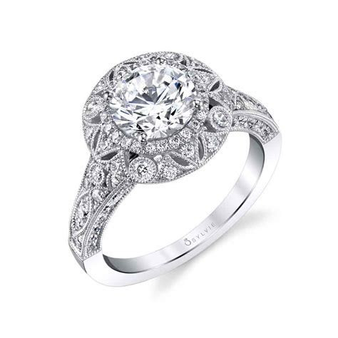 Thea   Vintage Inspired Engagement Ring S1866