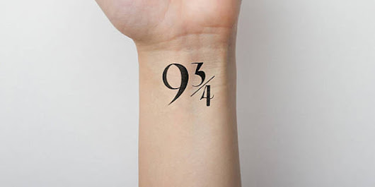 Temporary Tattoos for Harry Potter Fans