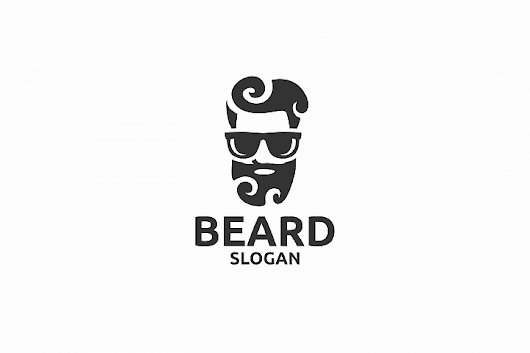 Manly Beard Logo for Graphic Design | Design Share