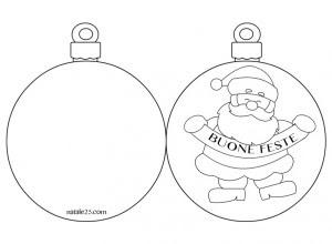 Palline Natalizie Da Colorare E Stampare Disegni Di Natale