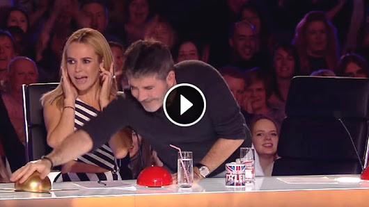 Watch Who is on Stage when Simon Cowell Hits The Golden Buzzer… UNBELIEVABLE!