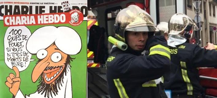 Σοκ στο Παρίσι:Τρομοκρατική επίθεση σε περιοδικό με 12 νεκρούς [εικόνες]