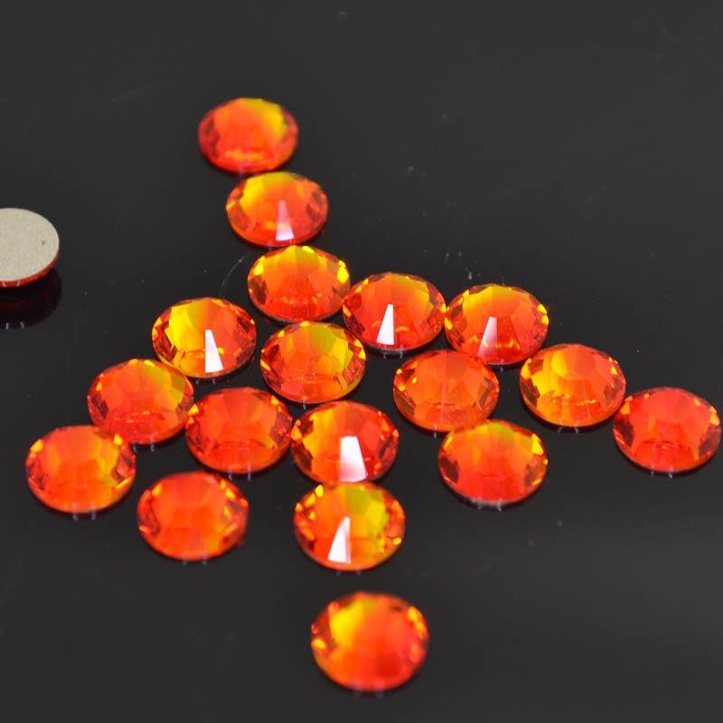 s41277 Swarovski Elements Rhinestones - SS 30 - Xilion Rose (2028) - Fire Opal (72)