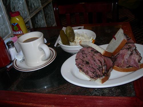 2009-03-17 Roxy's Diner Pastrami Sandwich (2)