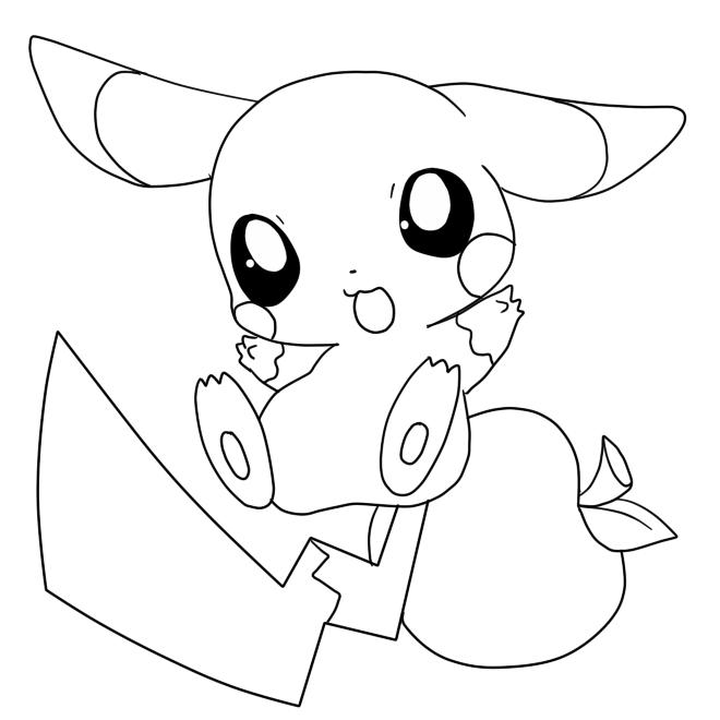 81 Dessins De Coloriage Pikachu à Imprimer Sur Laguerchecom Page 7