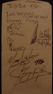 Sabina Concert Signs