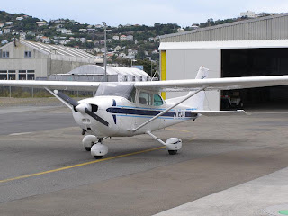 Wellington Aero Club Cessna 172N ZK-FLT