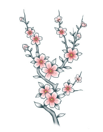 Cherry Blossom Sakura Tattooednow Ltd