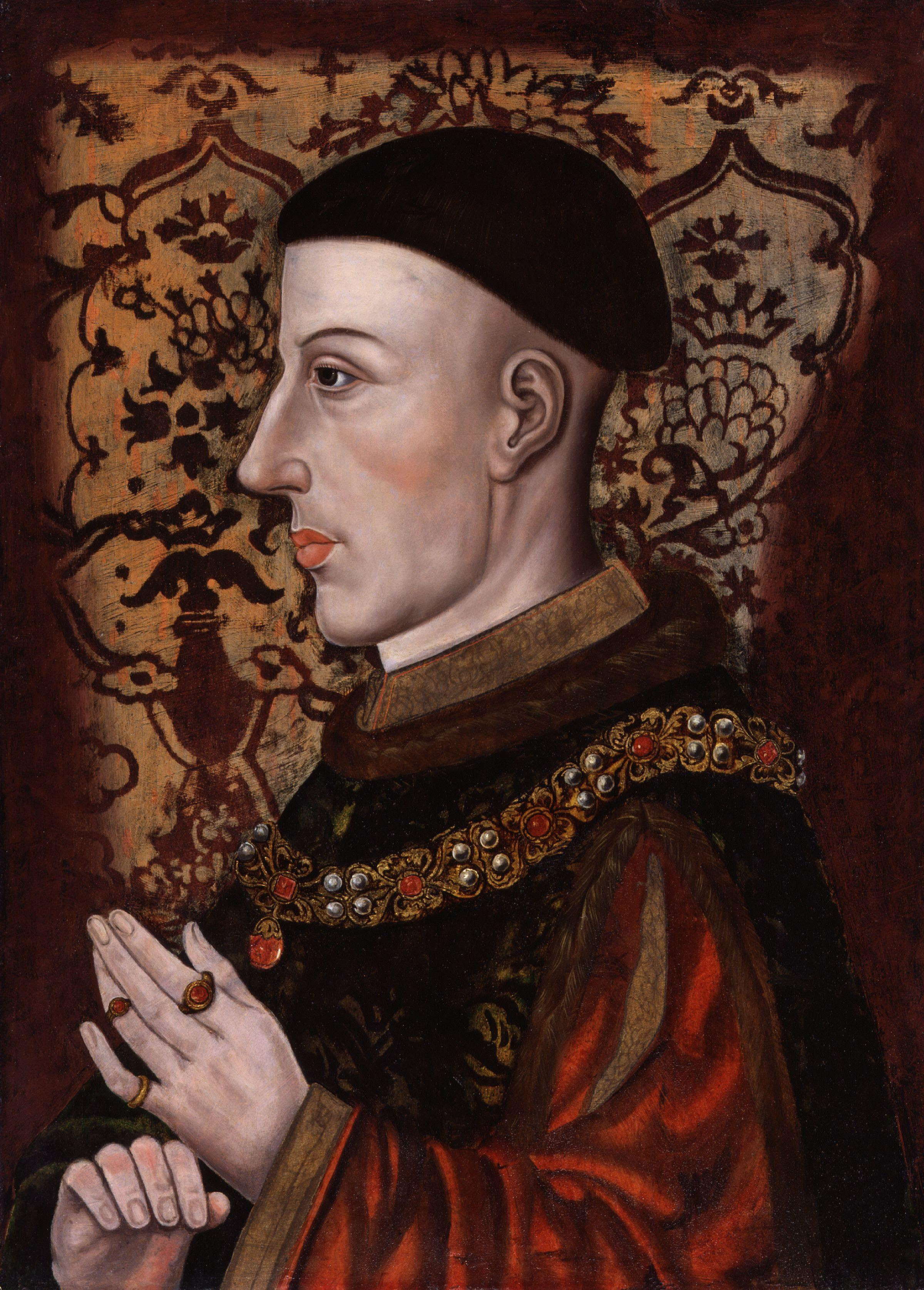 Henry V from the National Portrait Gallery