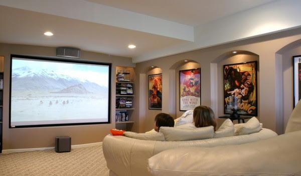 O azulejista como montar um cinema em casa - Sala cinema in casa ...