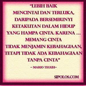 Mario Teguh Quotes. QuotesGram