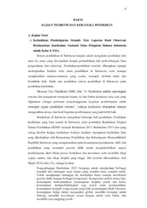 Contoh Teks Laporan Hasil Observasi Tentang Lingkungan Dapatkan Contoh