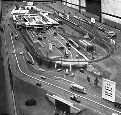 British Transport Commission Channel Tunnel model railway