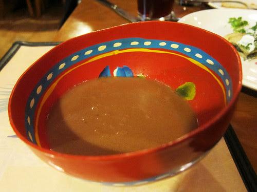 Dinner at Rocio's Mole de los Dioses
