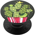 PopSockets PopGrip Cell Phone Grip & Stand - Holiday Cacti