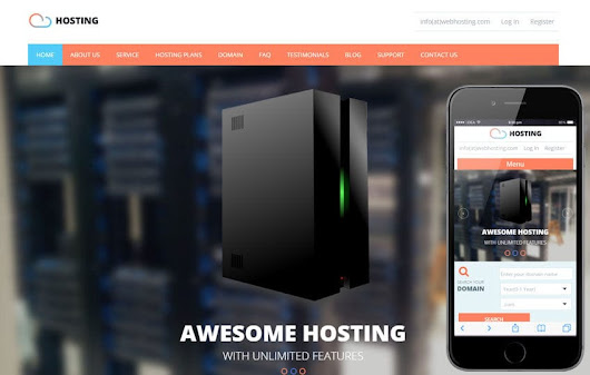 Hosting a Web Hosting Flat Bootstrap Responsive Web Template by w3layouts