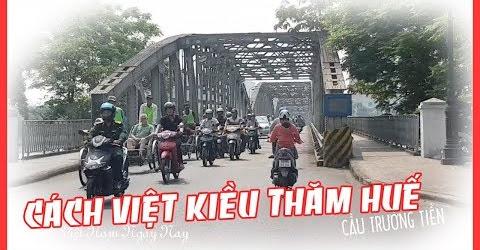 Việt Kiều Vòng Quanh Thăm Phố Huế Bằng Xe Ô Tô Điện